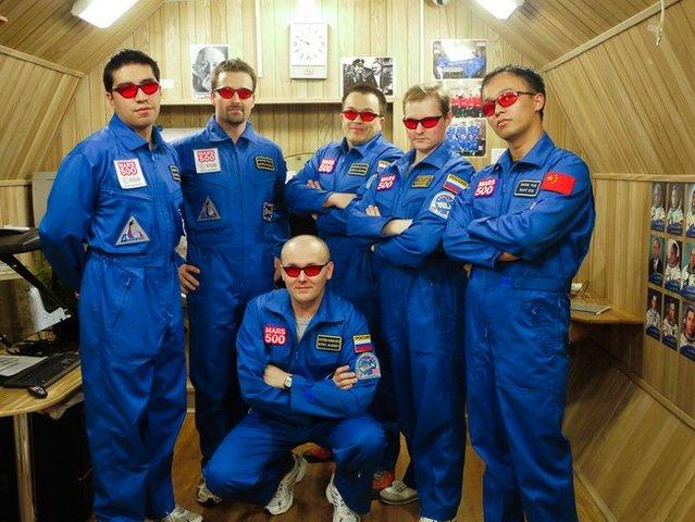 Astronautas  simulam uma viagem a Marte
