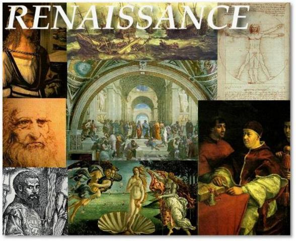 Beggining of the Renaissance.