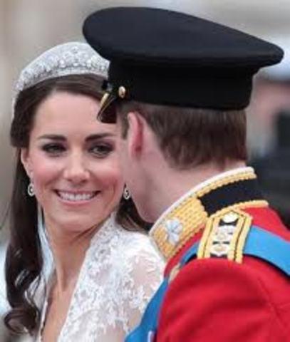 Casamento real do Príncipe William e Kate Middleton.