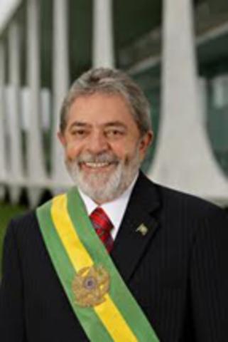 Lula é eleio Presidente da República
