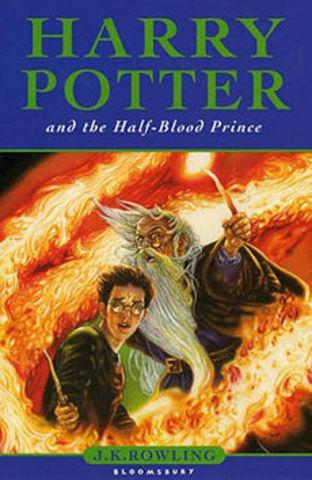 Sexto livro da série Harry Potter