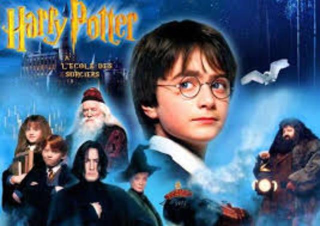 Lançamento do filme Harry Potter