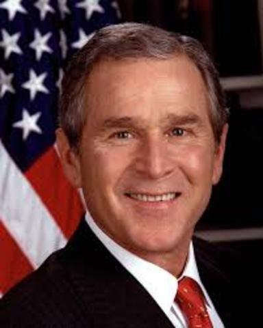 Bush foi eleito Presidente dos EUA
