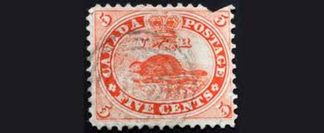 First Canadian Stamps