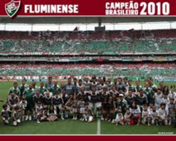 Fluminense é campeão brasileiro de futebol