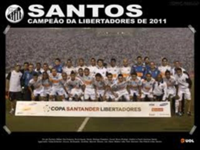 Santos FC é campeão da Libertadores