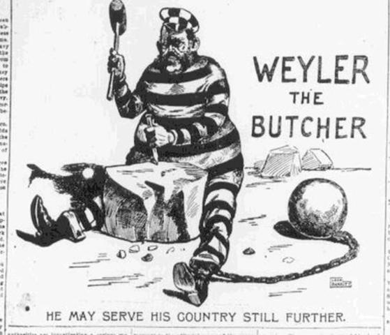General Weyler's Concentration Camps
