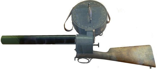 Marey's Camera Gun