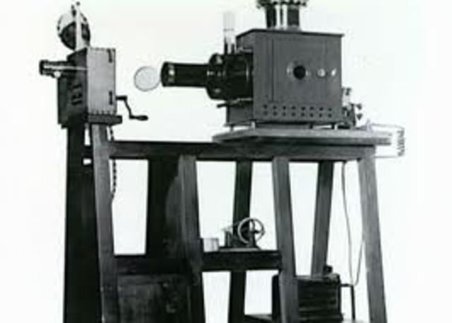 The First Movie Projector