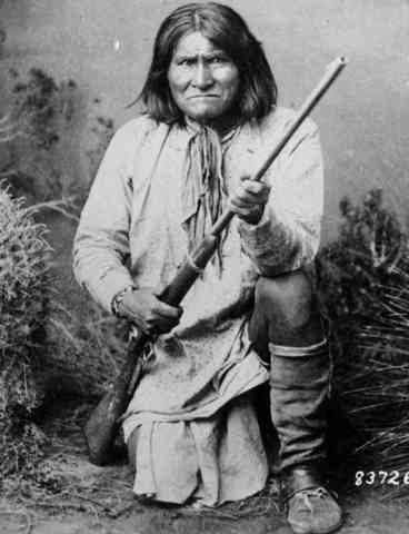 Geronimo is captured
