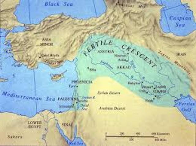 Sumer Geography 4500BC-3800BC