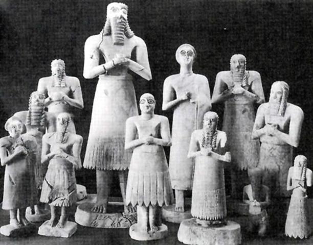 Sumerian Religion 2500BC