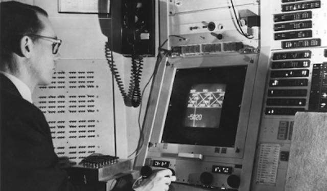 векторный дисплей ЭПГ-400