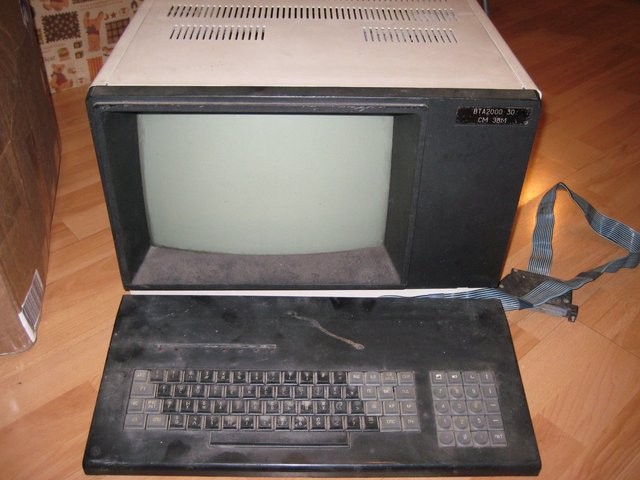 векторный дисплей СМ-7316