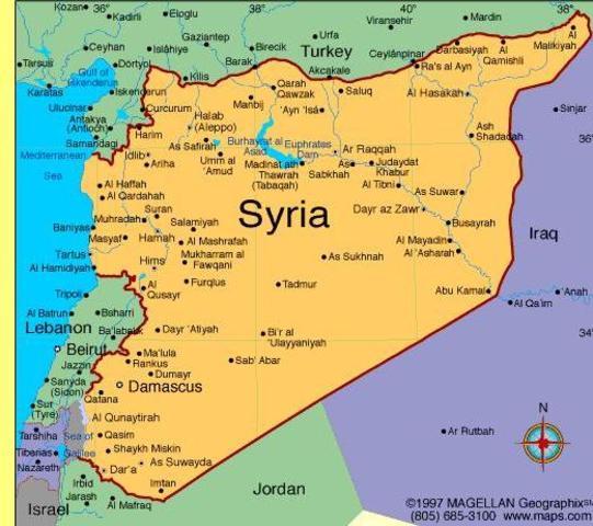 Geo - Mapa da Síria