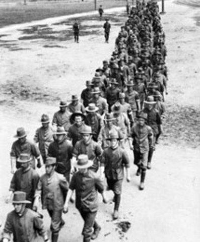 Conscription is reinforced