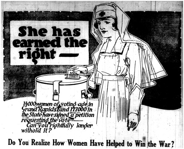 Women receive the right to vote