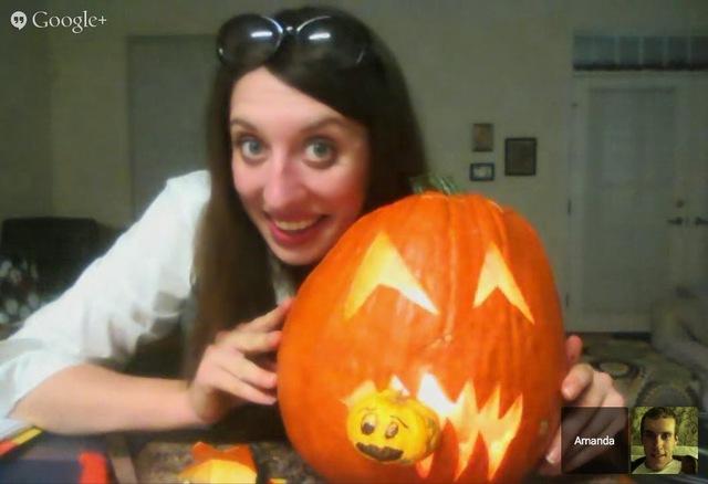 Hangout Pumpkin Carving