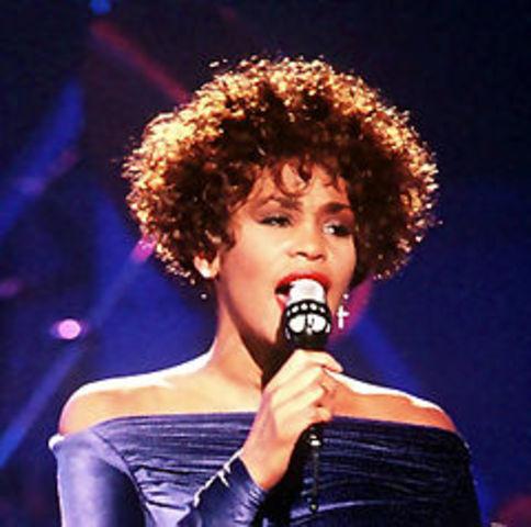 Whitney Houston morre