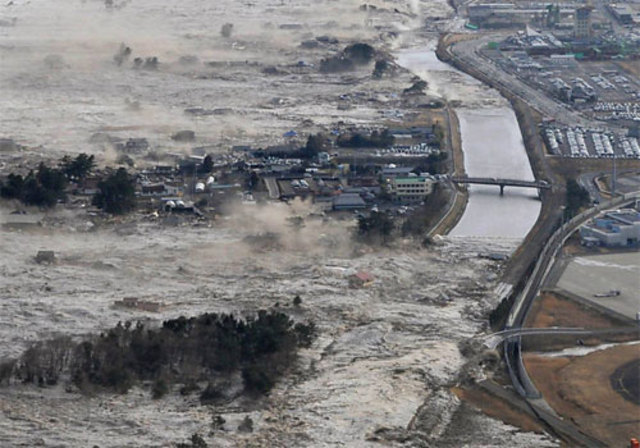 Dia de terror no Japão