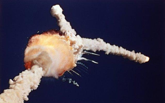 Lançadeira espacial explode no Texas