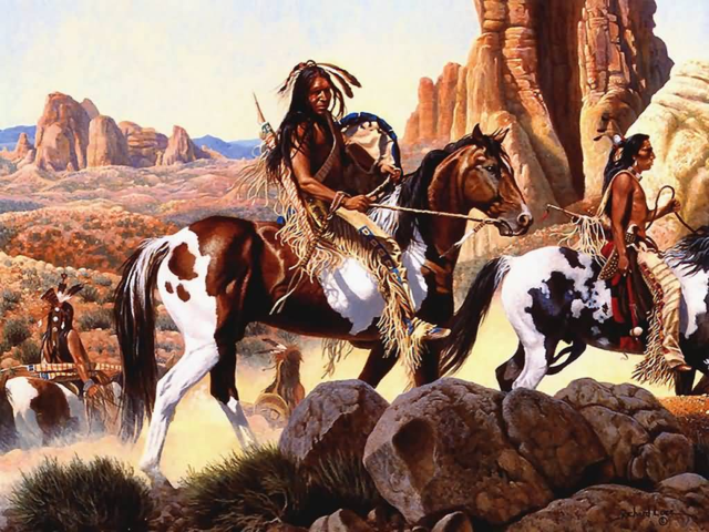 1700- Comanche in NM and TX