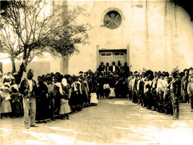 1682- Tigua founded Ysleta Mission