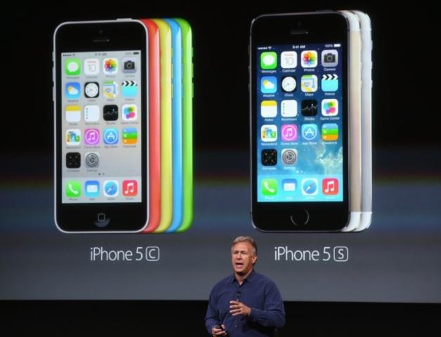 Novos iPhones 5c e 5s
