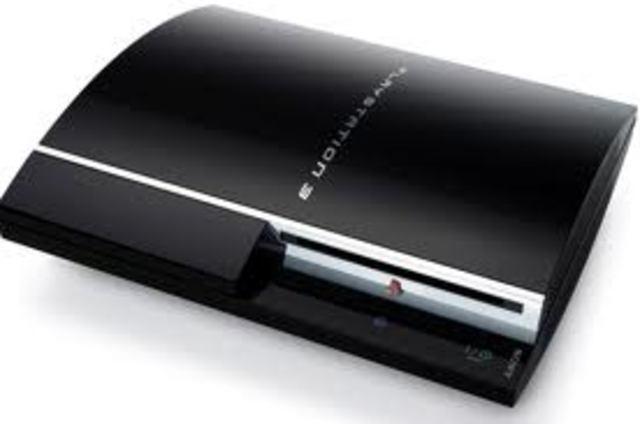 Lançamento do PlayStation 3