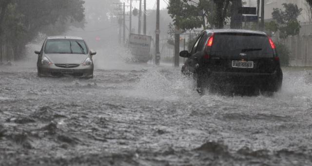 Maior chuva no Rio de Janeiro