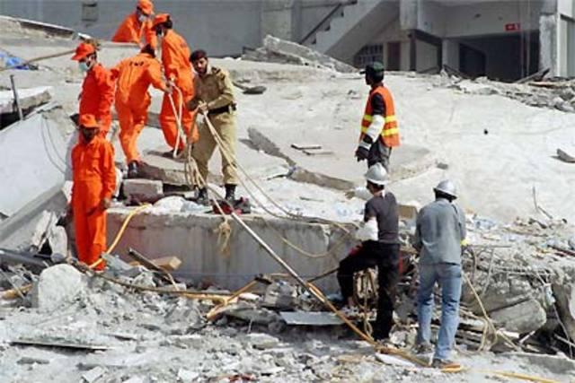 Terremoto em Caxemira