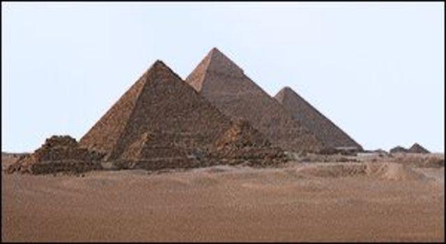 BC Pyramids of Giza (Religion)