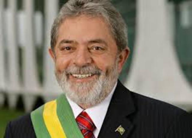 Presidente Lula é eleito presidente do Brasil