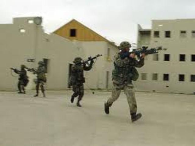 Fim da operação de invasão do Iraque