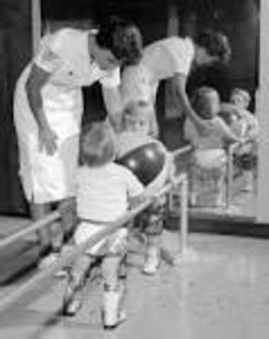 Polio epidemic in U.S.