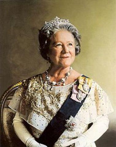 Aniversário da rainha mãe