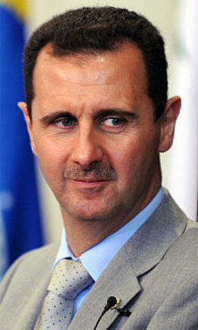 início do mandato de Bashar al-Assad