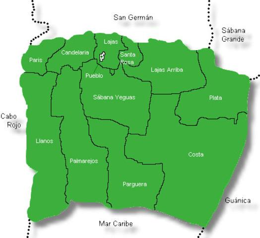 Pueblos Colindantes Con Lajas