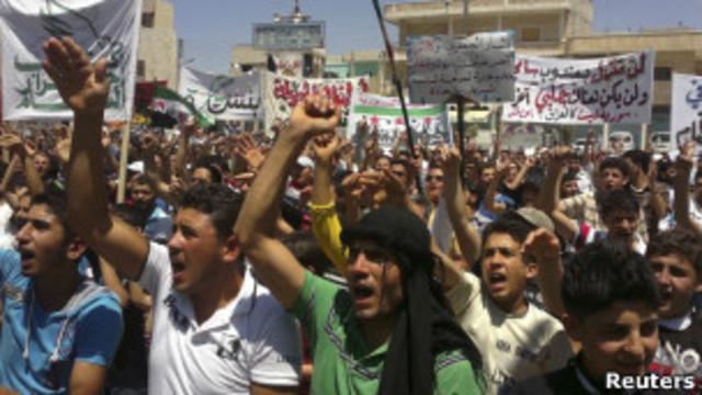 prisão de estudantes na Síria