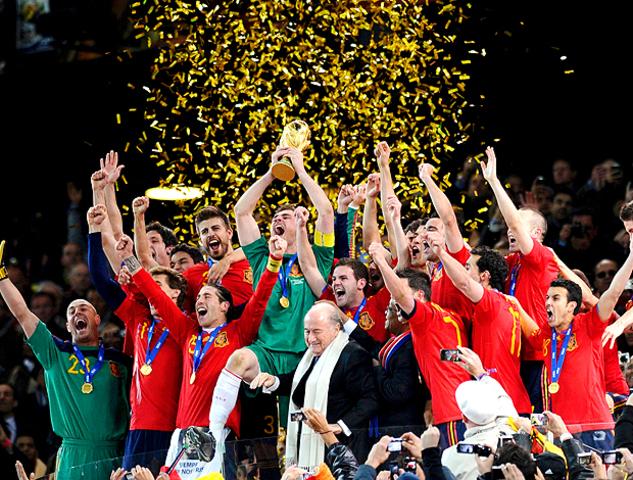 Espanha vence sua primeira Copa do Mundo