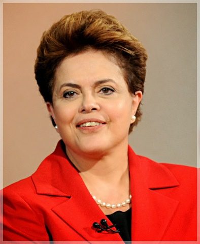 Dilma Rouseff é eleita presidente do  Brasil