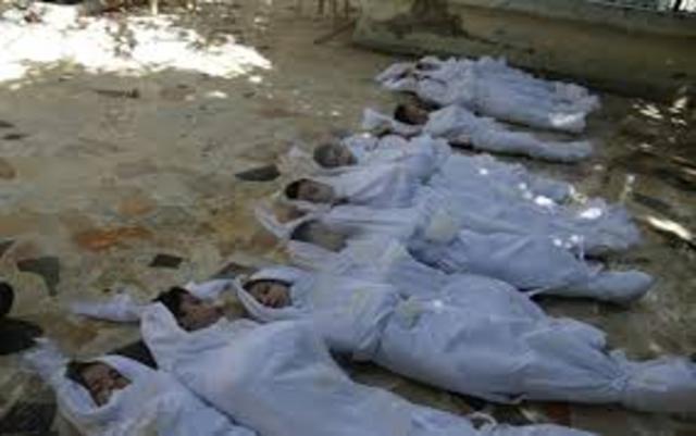 Assad usa armas químicas contra civis