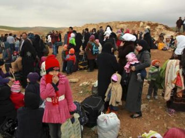 Refugiados Siria (GEOGRAFIA)
