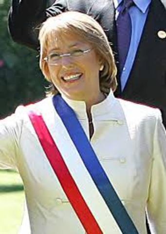 Primeira Presidenta do Chile é eleita
