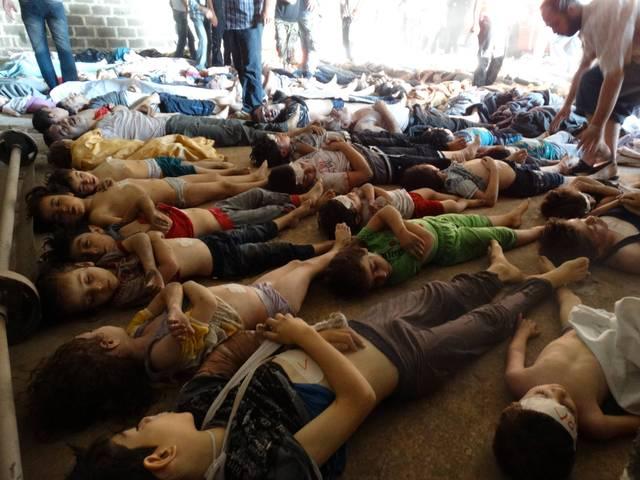 Bahar al-Assad usa armas químicas contra sírios (GEOGRAFIA)