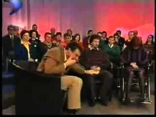 Talk Show Host Laughs at Guest