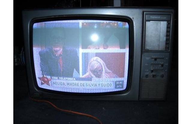 Llegó la tele a color!!!