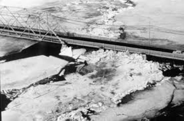 St Lawrence River Flood