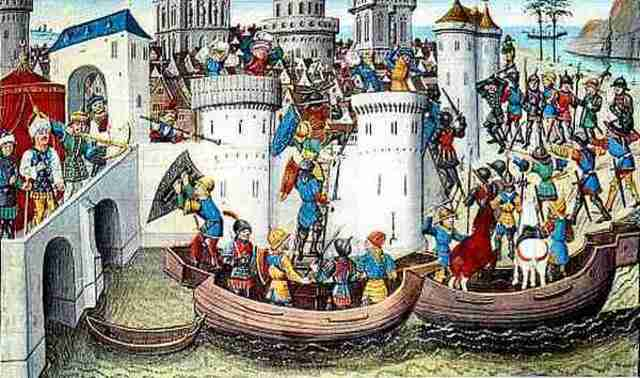 Llegada a Constantinopla