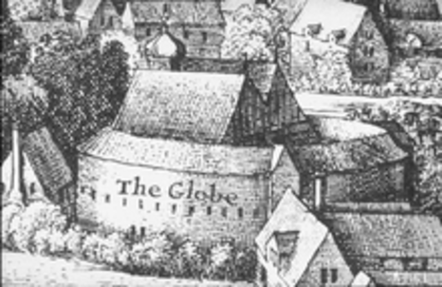 The Globe is Built.